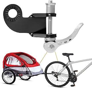 CETECK - Enganche para Remolque de Bicicleta para niños, Incluye Acoplamiento Adicional para Remolque de Bicicleta 2 en 1 para Remolque de Perros