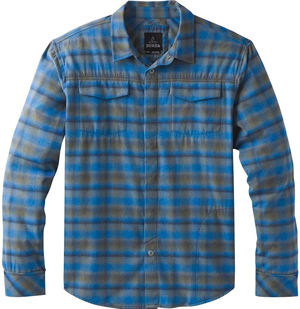 prAna Men's Outlet San Diego Mall ☆ Free Shipping Miki Flannel Ls