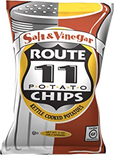 Route 11 Potato Chips : Salt & Vinegar (30 bags (2 oz each))