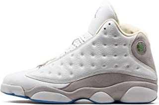 Jordan Air Retro 13 (White/Neutral Grey-Uni Blue 9)