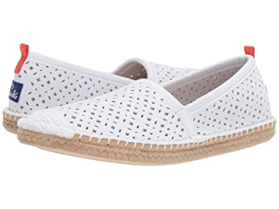 Sea Star Beachwear Beachcomber Espadrille Water Shoe (White Eyelet) Women