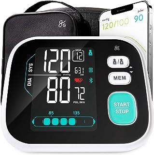 Greater Goods مانیتور فشار خون هوشمند سری Pro هوشمند ، BPM فوقانی بازو با LCD با نور پس زمینه بزرگ ، سخت افزار برتر