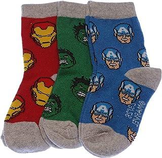 Calcetín Medio alto - 3 pack - Sin tejido de rizo - De color - Marvel Avengers