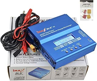 Digital LiPo LiIon Life NiMH NiCd 2S 3S 4S 5S 6S RC Battery Balance Charger and Discharger with DC PC USB Port Temperature Port