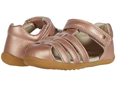 Bobux Kids Step Up Jump Sandal (Infant/Toddler) (Rose Gold) Girl