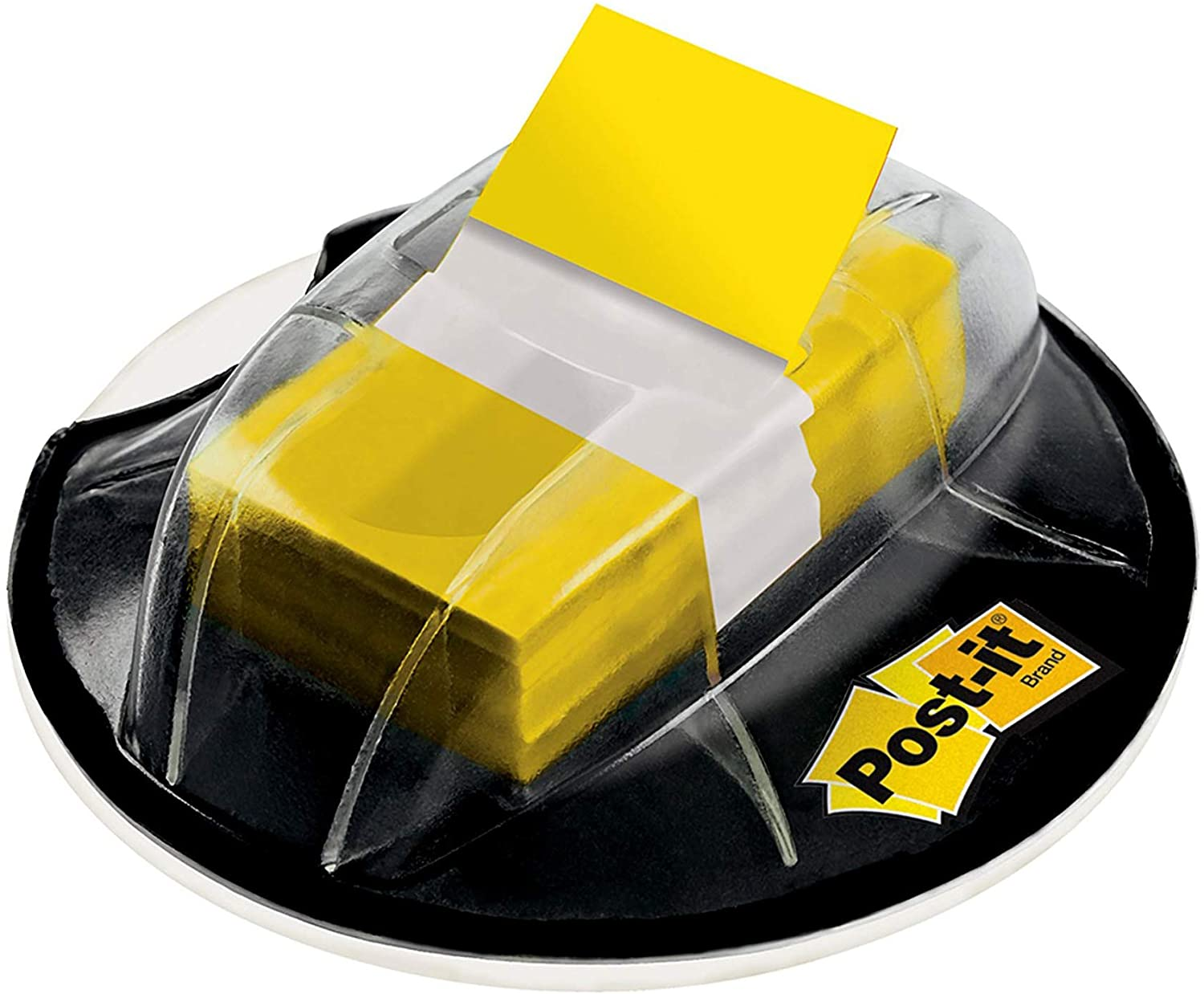 Post-it Flags, 200/High Volume Desk Grip Dispenser,1 in Wide, Yellow (680-HVYW) : Tape Flags : Office Products