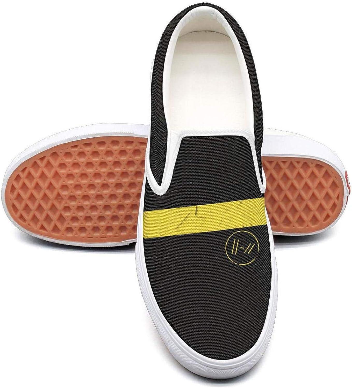 Classic Twenty-One-Pilots-Trench- Women Canvas Slip-On shoes Sneaker