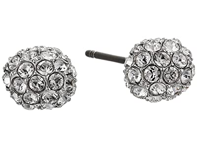 Swarovski So Cool Stud Pierced Earrings (White) Earring