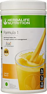 Herbalife Formula 1 Shake Nutritional Mix - 500 Grams - Healthy F1 Nutritional Meal Replacement Protein Powder Diet - Weight Loss Supplements for Men and Women (Mango)