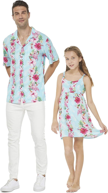 Matching Father Daughter Hawaiian Classic Luau Dress Various Dance Max 78% OFF Shirt