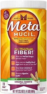 Metamucil Smooth Texture Sugar-Free Unflavored 114 Each ( 2 pack)