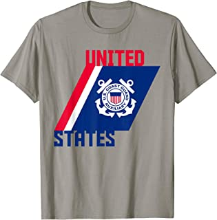Patriotic Auxiliary Coast Guard Gift Design Military Support T-Shirt