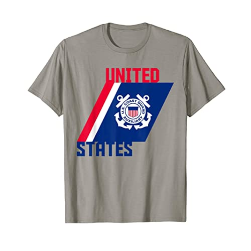 9b63c8c0ad88 Patriotic Auxiliary Coast Guard Gift T Shirt Support