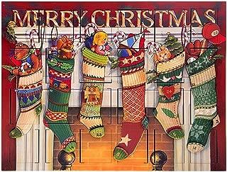 Byers' Choice Stocking Advent Calendar #AC14