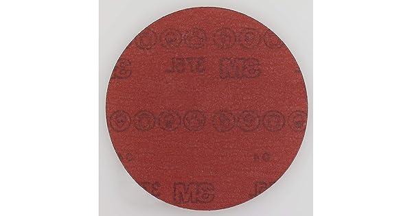 5 Diameter 051141556680 Pack of 50 P800 Grade 3M Stikit Film Disc 375L 5 Diameter Aluminum Oxide