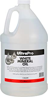 UltraPro Food Grade Mineral Oil, 1 Gallon (128oz), for Lubricating and Protecting Cutting Board, Butcher Block, Stainless Steel, Knife, Tool, Machine and Equipment, NSF Approved