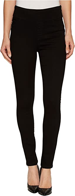 Tummy Control High Waisted Jegging in Black