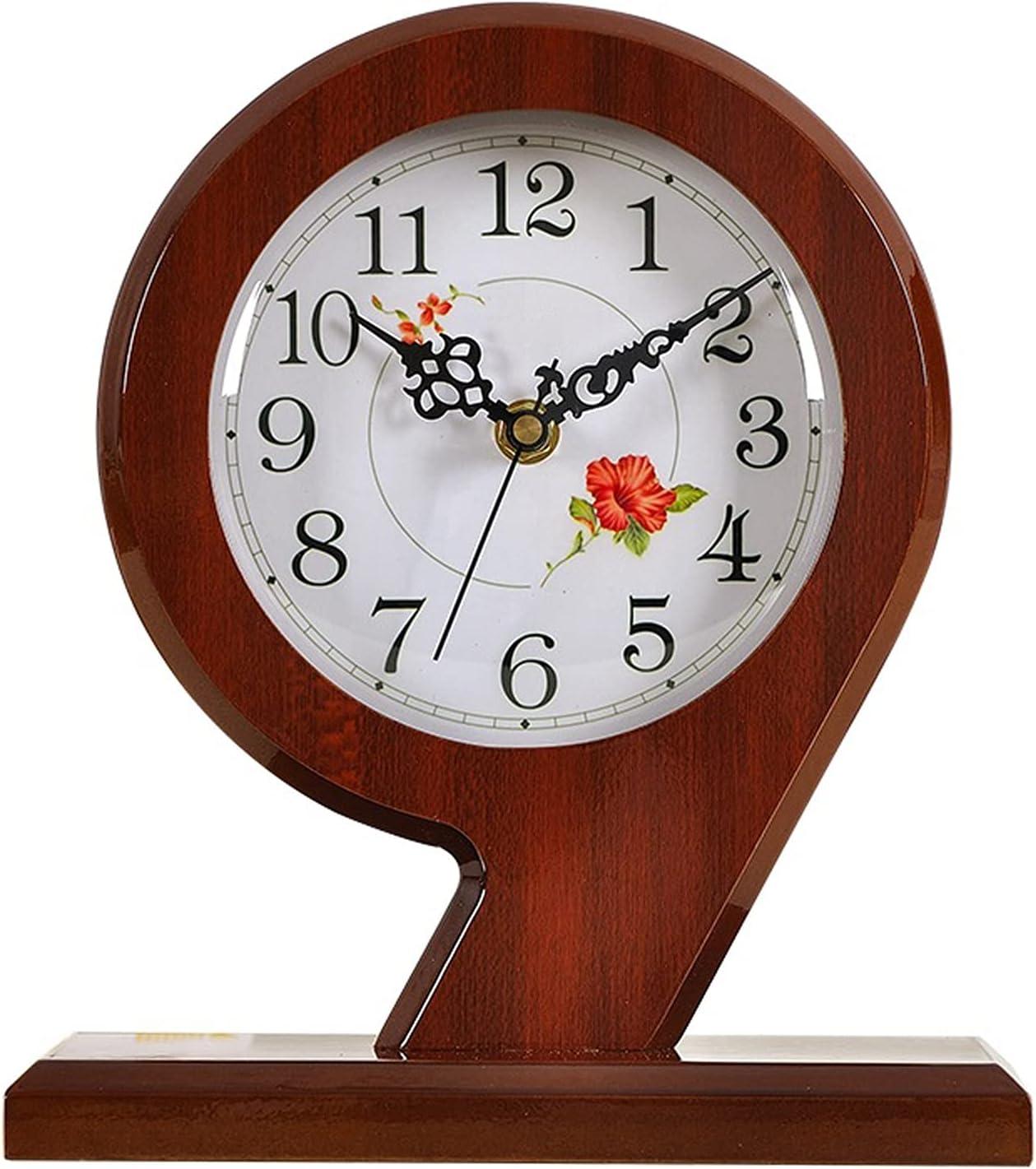 jinrun Relojes de Escritorio Reloj Reloj Moderno silencioso Escritorio Reloj Sala de Estar Tablero Reloj Escritorio péndulo Reloj Sentado Reloj casa Reloj de Reloj Despertador