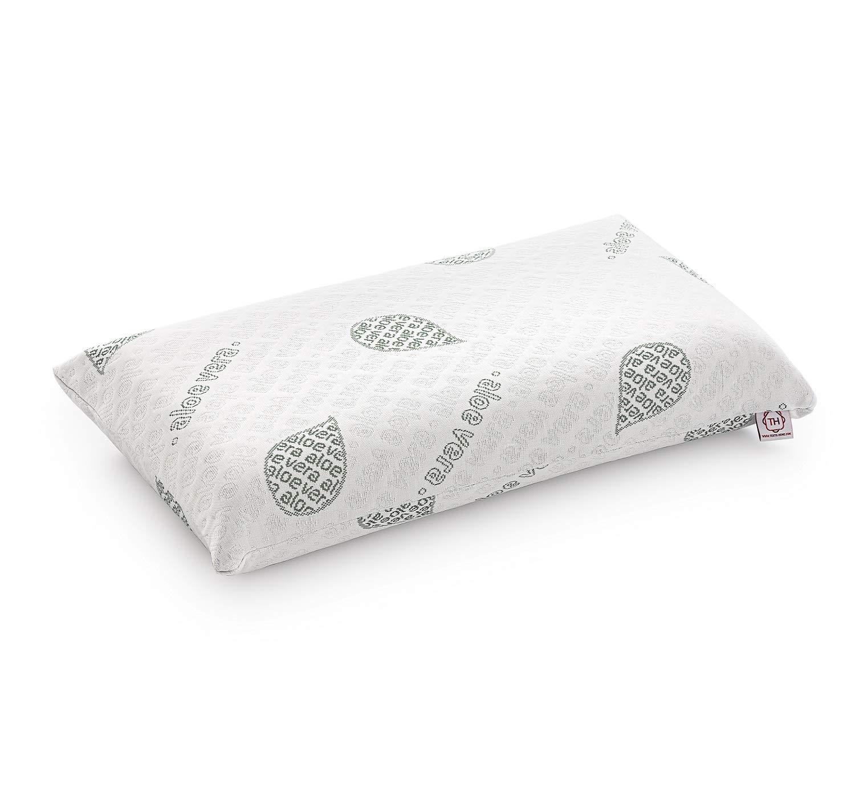 Textilhome - Almohada Viscoelástica - 70 cm - Tejido Ecológico ...