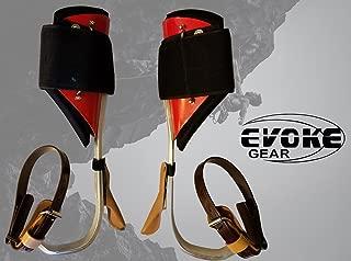 Evoke Gear Tree Climbing Spike Set Aluminum Pole Climbing Spurs Climbers