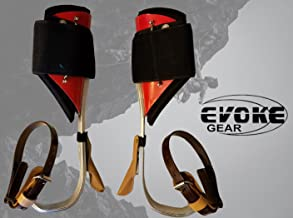 Evoke Gear Tree Climbing Spike Set Aluminum Pole Climbing Spurs Climbers