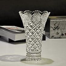 XINHU Transparante glazen vaas, Waterlelie Cultuur Vaas