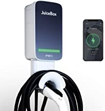 JuiceBox 40Next Generation Smart Electric Vehicle (EV) Charging Station with WiFi - 40 amp Level 2 EVSE, 25-Foot Cable, U...