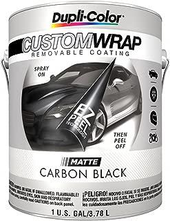 Duplicolor CWBG794 Custom Wrap Matte Carbon Black