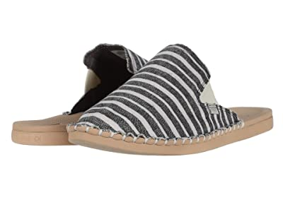 Reef Escape Mule TX (Black/Stripes) Women