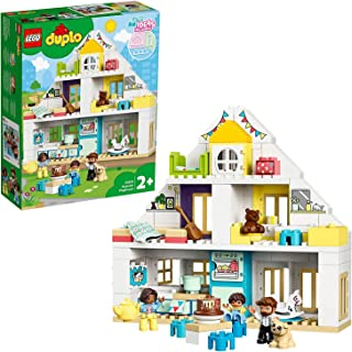 LEGO 10929 DUPLO Town Modulärt lekhus Byggsats med Leksaksdjur, Dockhus, Barnleksaker, Byggklossar