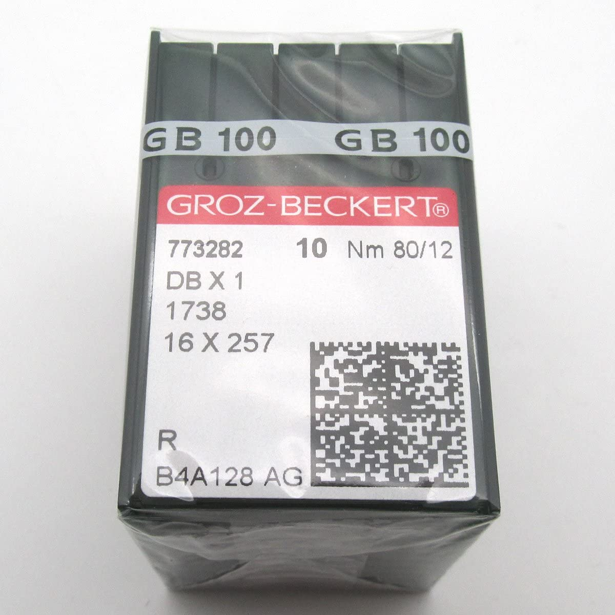 ckpsms Department store GROZ-BECKERT Needle in Clear 100PCS Plastic San Diego Mall Bec Groz Box-