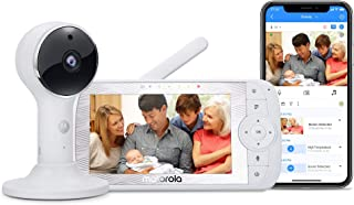 "Motorola Connect60 Wireless Video Camera – 5"" Parent Unit and WiFi HD 1080p for Baby, Elderly, Pet –- Two-Way Audio, Night..."