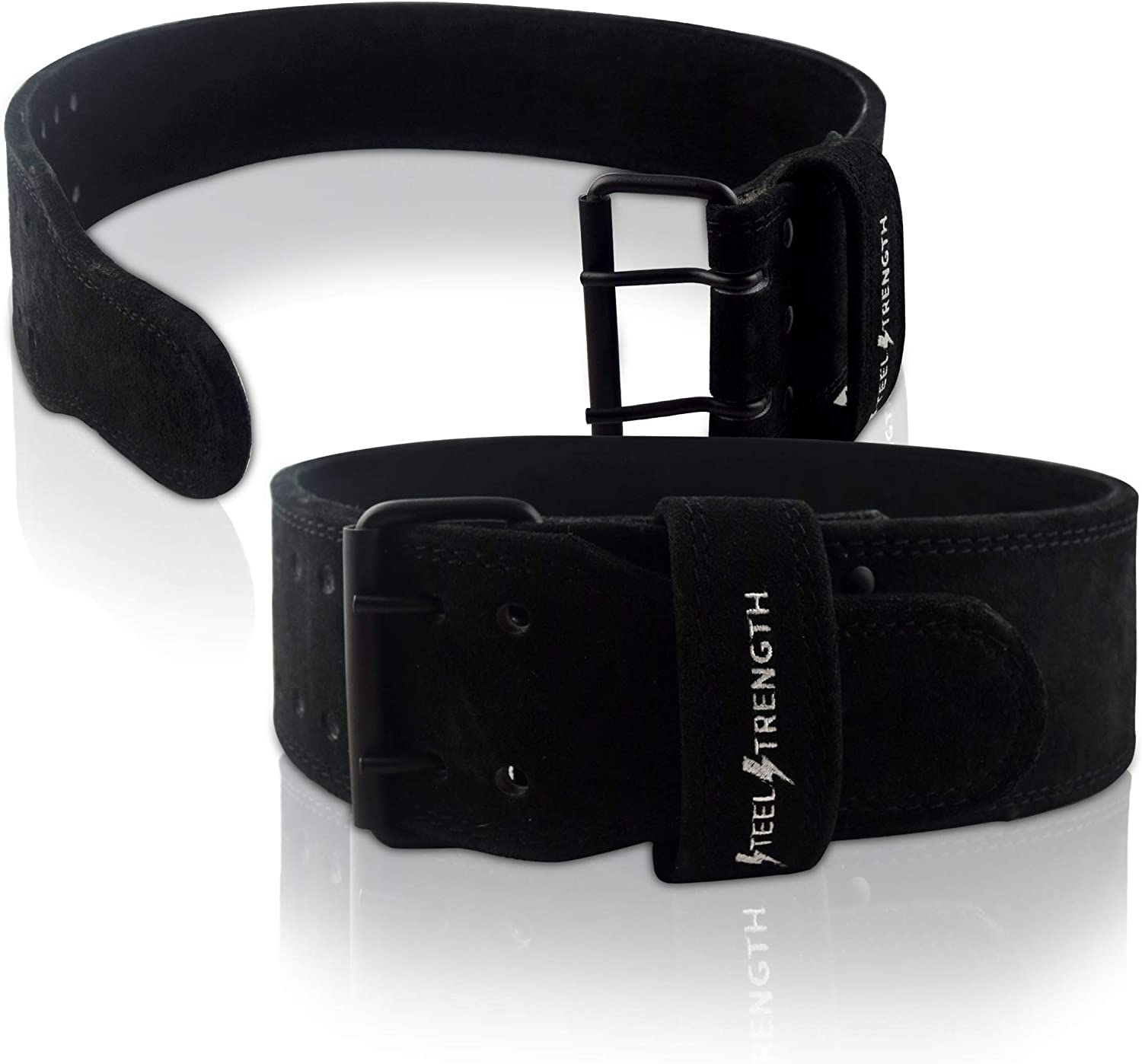 """Met-X Weight Lifting Belt Powerlifting Back Support thick 10mm 4/"""" Wider Fitness"""