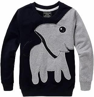 Toddler Animal Shirts, Elephant Nose Long Sleeve T Shirt Pajamas Sweatshirts