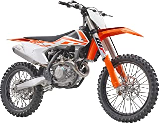 New Ray KTM 450 SX-F Dirt Bike Orange and White Motorcycle Model 1/10 57943
