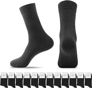 Smart Sir, Calcetines Hombres Mujeres 12 Pares Calcetines largos de algodón para senderismo al aire libre Caminar Trekking Correr Calcetines deportivos