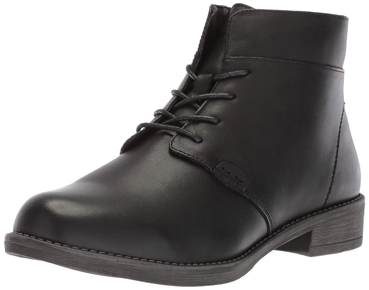 肝リアル発信[Propet] Women's Tatum Lace Bootie Black High-Top Boot - 6.5WW