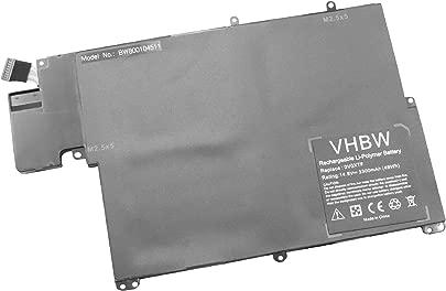 vhbw Akku 3300mAh f r Laptop Dell Vostro V3360  Inspiron 5323  13z-5323 wie 0V0XTF  AM134C  DL011118-48P14G01  RU485  TKN25  TRDF3  V0XTF  VOXTF