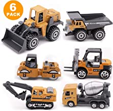 Mini Engineering Truck Models Toy,Simulation Alloy Engineering Truck Car Toys,Cars Vehicle Set, Classic Toy Car Children Toys Engineering Vehicle for Kids Gifts Brinquedos, Cake Decoration