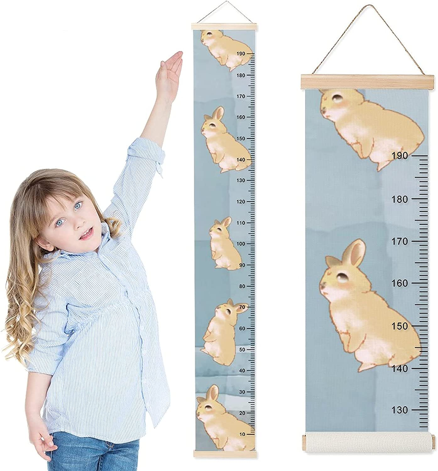 DKISEE Baby Growth Max 88% OFF Chart Child Ruler Over item handling Wall Hanging Height f