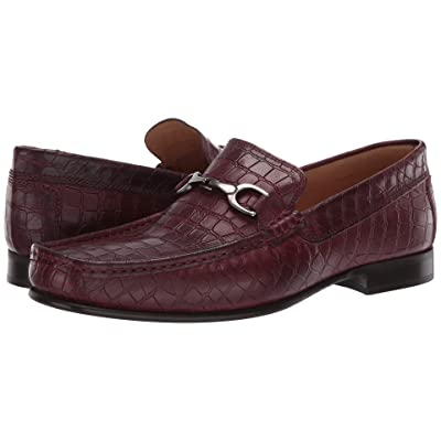 Donald J Pliner Darrin (Bordo Classic Croco) Men