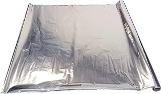 Viagrow VMY140 Mylar Reflective Material, 50', White/Silver