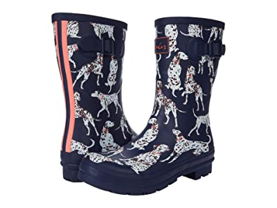 Joules Molly Welly (Navy Dalmation) Women