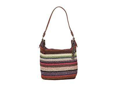 The Sak Sequoia Crochet Hobo (Vagabond Stripe) Hobo Handbags