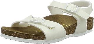 Birkenstock Rio, Sandales mixte enfant - Blanc - White (Magic Galaxy White), 26