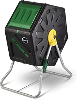 Miracle-Gro Small Composter - Compact Single Chamber Outdoor Garden Compost Bin - Heavy Duty 18.5gal (70L) Capacity - Easy...