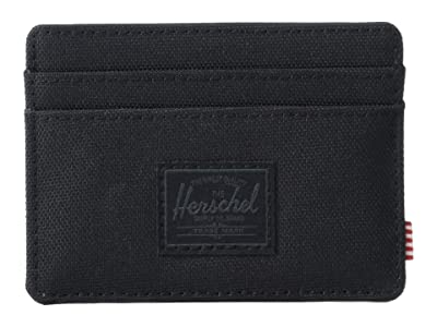 Herschel Supply Co. Charlie RFID (Black/Black) Wallet Handbags