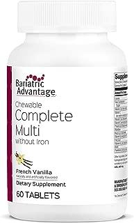 Bariatric Advantage - Complete Chewable Multivitamin - French Vanilla, 60 Count