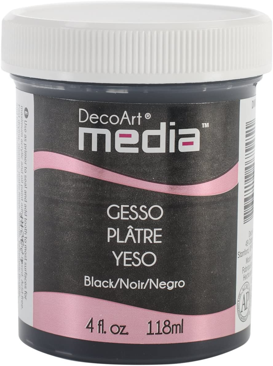 3.5 x 3.5 x 12.5 cm DecoArt Media Acabados de Pintura Crackle Blanco acr/ílico