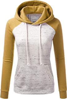 Basic Lightweight Pullover Hoodie Sweatshirt for Women
